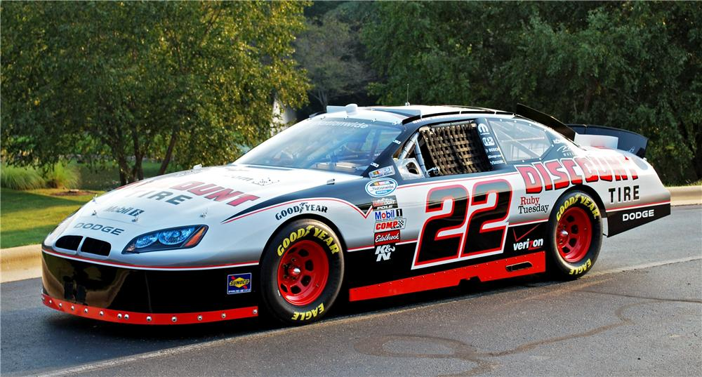 Image 2010 Dodge Charger 22 Brad Keselowski Nascar Nationwide