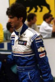 Damon Hill juillet 1995