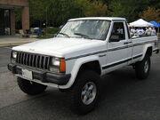 Jeep Comanche Pioneer white MD l