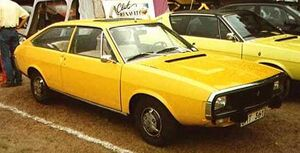 Renault 15 Front