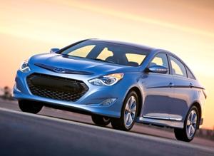 Hyundai Sonata Hybrid Blue Drive Concept