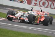 Fisi leads Sutil round turn 2 Canada 2008