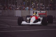 Ayrton Senna 1991 USA 3