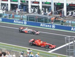 Massa Hamilton France