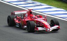 Michael Schumacher Ferrari 248F1 2006 Brazil