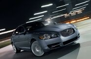 Jaguar XF blue 1