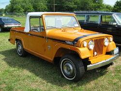 1971 Jeepster Commando SC-1 pickup orange r-Cecil'10