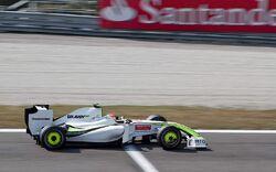 Rubens Barrichello 2009 Italy