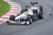 2011 Canadian GP - Kobayashi-Heidfeld crash
