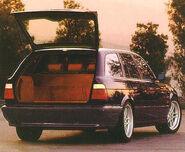 E34 m5 touring rear