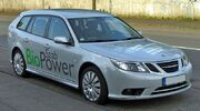 Saab 9-3 SportCombi 1.8t BioPower Facelift front