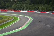 F1 belgium 2008 lap 41 hamilton and raikkonen off