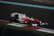 Kamui Kobayashi (Toyota TF109) on Sunday at 2009 Abu Dhabi Grand Prix