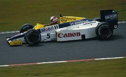 Mansell - Williams 1985