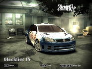 Sonny's VW Golf GTI in NFS MW