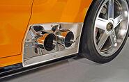 Mustang-GTR exhaust