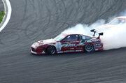 Yoshinori Koguchi 180sx at D1GP Fuji Speedway