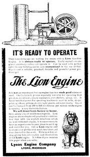 Antique gasoline engine