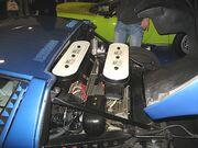Lamborghini Miura Engine-bay