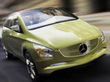 Mercedes-Benz Concept BlueZero E-Cell