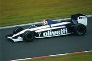 Piquet - Brabham-BMW BT 54 1985-08-02