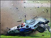 Kubica crash
