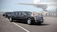 One Presidential Limousine