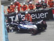 Pastor Maldonado Monaco 2012 Crash