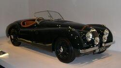 800px-1950 Jaguar XK120 34