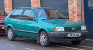 800px-1994 Volkswagen Polo Coupe Boulevard 1.0 Front