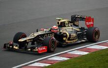 012 Canadian GP - Romain Grosjean Lotus E20 02