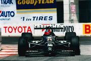 Mark Smith Long Beach Grand Prix 1993 Indy car race CART