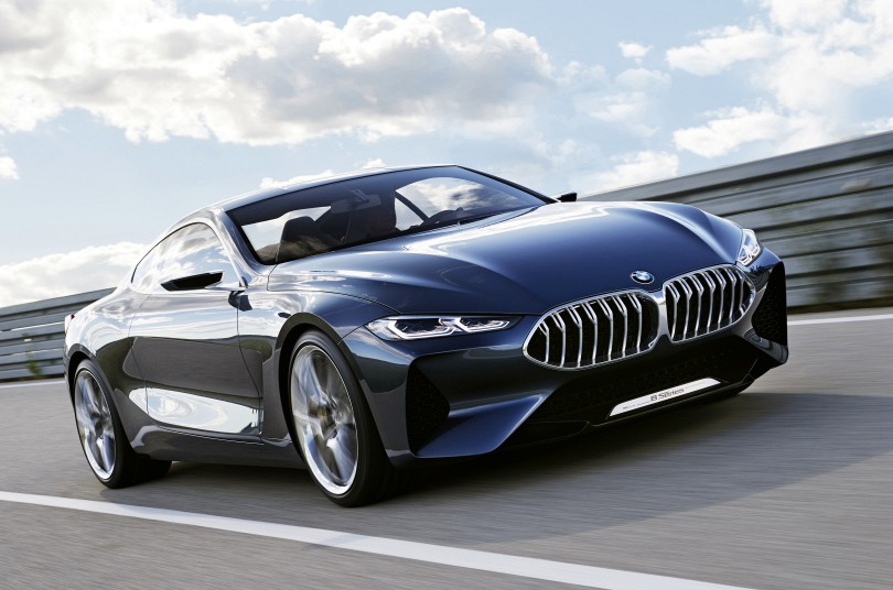 The 2018 BMW 8 Series Concept Is Preview Of What Will Look Like In Production Form It Was Unveiled 2017 At Villa De