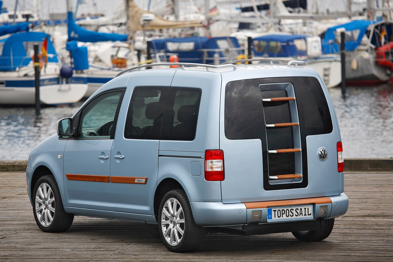 Volkswagen Caddy Topos Sail Concept | Autopedia | FANDOM powered by ...