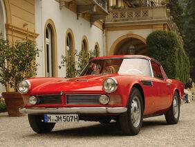 Bmw 507 coupe by giovanni michelotti 1