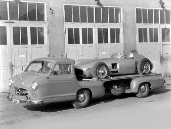Mercedes-benz blue wonder transporter 1
