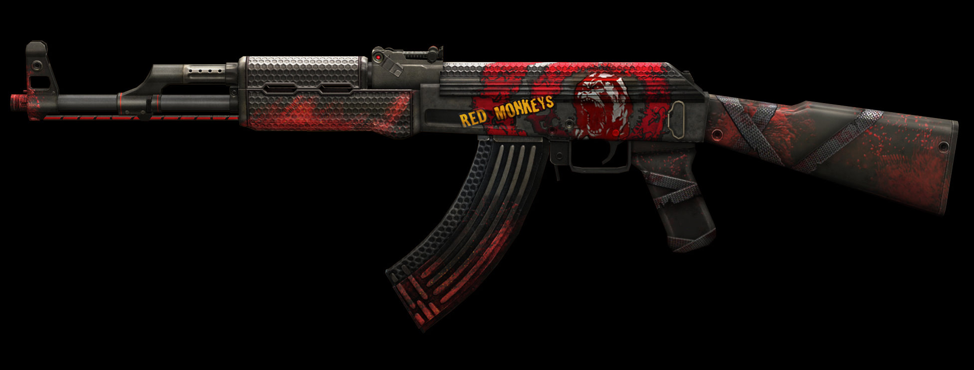 ak 47 red monkey alliance of valiant arms wiki fandom powered by wikia. Black Bedroom Furniture Sets. Home Design Ideas