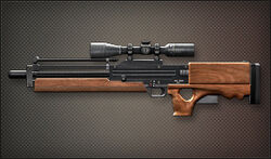 Weapon Sniper Walther WA-2000