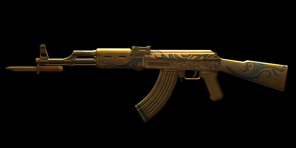 golden ak 47 alliance of valiant arms wiki fandom powered by wikia. Black Bedroom Furniture Sets. Home Design Ideas