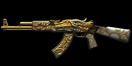 ak 47 gold dragon alliance of valiant arms wiki fandom powered by wikia. Black Bedroom Furniture Sets. Home Design Ideas