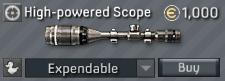 Barrett M82A3 High-powered Scope