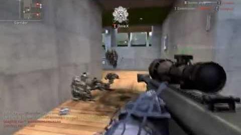 AVA Weapon Showcase - M82A3 Barrett (Sniper)