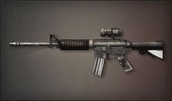 Weapon Assult Rifle M4A1