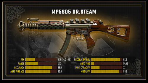 MP5SD5 DrSteam