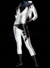 Silver Cat's Costume