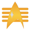 Fleet Admiral Rank Comm Badge