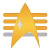Admiral Rank Comm Badge