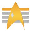 Rear Admiral Rank Comm Badge