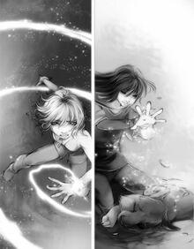 Emily and Adriane switch powers
