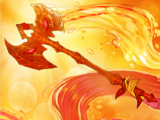 Ava's battle-axe